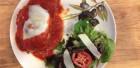Tina's Italian Cafe Eggplant Parmigiana