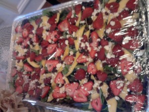 Tina's Italian Cafe Catered Tray of Summer Salad